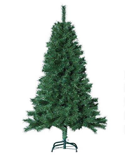 Árbol de Navidad artificial VERDE - Altura: 1,80m - 650 ramas - Pie de metal - Calidad superior