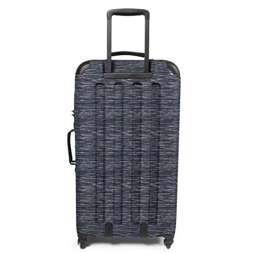 Eastpak Tranzshell L Koffer, 77 cm, 75 L, Bonded Blue Knit Grey