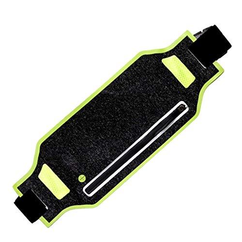 LANDUM Waist Bag, Sports Fanny Belly Waist Bum Bag Fitness Running Jogging Cycling Belt Pouch Pack Green -