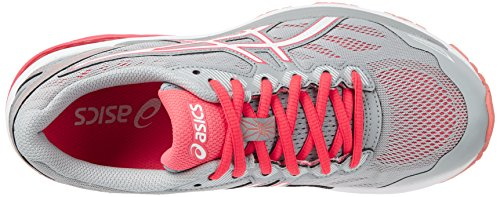 Asics Damen Gt-1000 5 Trainingsschuhe Grau (Midgrey/white/diva Pink)