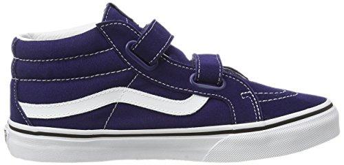 Vans - K Sk8-mid Reissue V, Sneaker Unisex – Bambini Blu (Blau (patriot blue/true white))