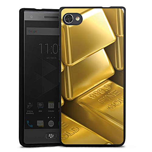 DeinDesign BlackBerry Motion Silikon Hülle Case Schutzhülle Goldbarren Gold Barren