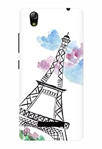 Designer Printed Mobile Back Cover & Case For Gionee Pioneer P5L - By Noise