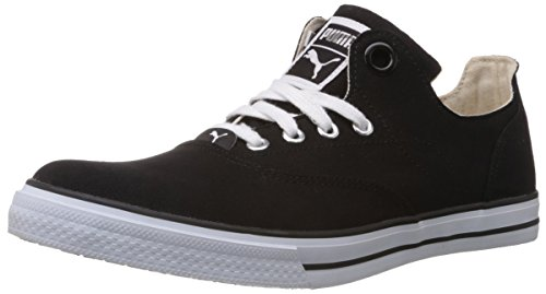 Puma Men's Limnos III Ind. Black Canvas Sneakers - 9 UK/India (43 EU)  available at amazon for Rs.1264