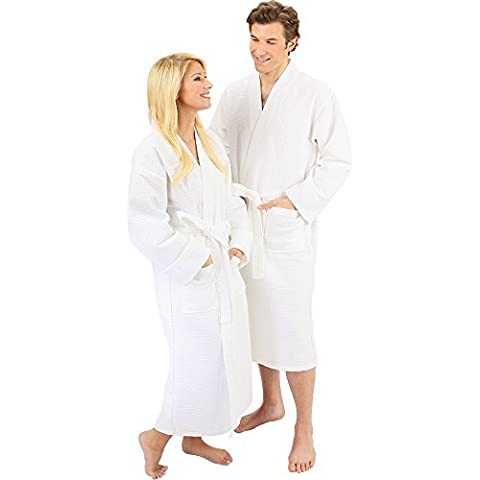 For Pro Premium Waffle Weave Spa Robe by For