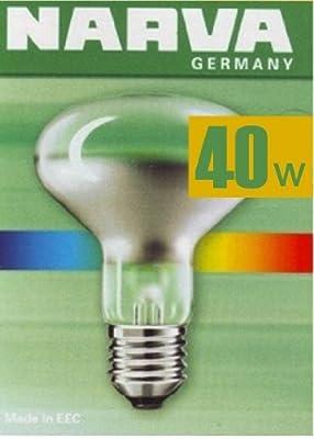 5x NARVA Reflektorlampe R63 / 40W / 230 V / E27
