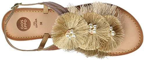 Gioseppo 44241, Sandales Bout Ouvert Femme Beige (Beig)
