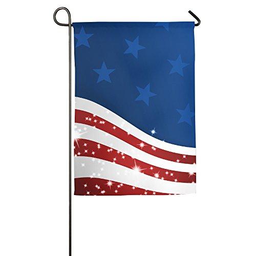 American Flagge Familie Flagge Citi 3.093,7cm Hipster Begrüßt die Banner Garten Flagge, Polyester, weiß, 30*46 cm