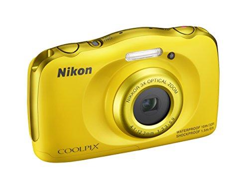 Nikon Coolpix S33 Fotocamera Digitale Compatta, 13,2 Megapixel, Zoom 3X, 3200 ISO, LCD 3