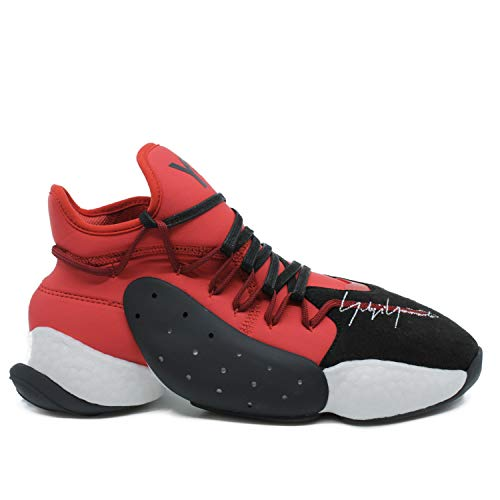 huge discount 770ca ff553 Y-3 BYW BBALL Nero Rosso Bianc - 8