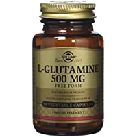 Solgar 500 mg L-Glutamine Vegetable Capsules - 50 Capsules