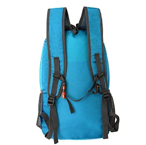 Bergsteigen Paket faltbare Schulter-Beutel helle Haut Tasche Paar im Freien Rucksack Wasserdichte tragbare Reise Green
