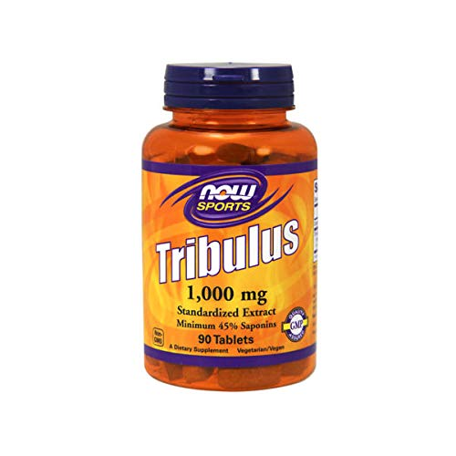Now Foods Sport Tribulus 1, 000 mg (Pack of 90 Tablets)