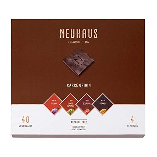 Neuhaus - Napolitanas de chocolate negro belga Carrés Orígenes