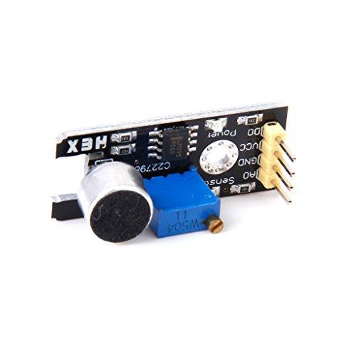 Analoge Ton Sensor Modul Mikrofon MIC Controller für Geräuscherfassungs (Mic-modul)