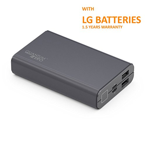 QuantumZERO Standby Power Bank [LG Batteries] (10050 mAh)