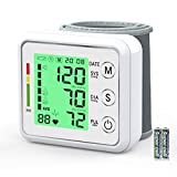 Wrist Blood Pressure Monitor for Home,Oudekay Digital Automatic Measure Blood Pressure with Heart