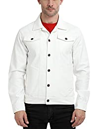 White denim jacket womens india