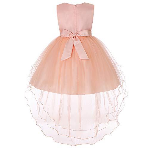 (Amphia - Baby Mädchen Kleidung Sets - Kinder ärmelloses Kleid aus Bow Mesh-Rock,(3J-8J))