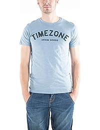 Timezone Letters, T-Shirt Homme