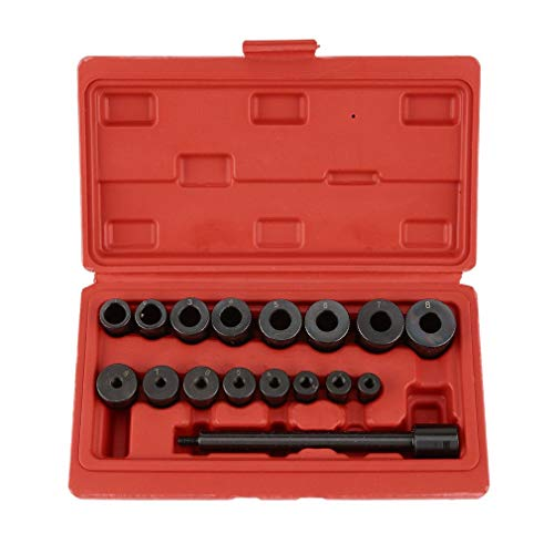 FDBF Universal 17 PCS Clutch Aligning Tool Kit Alignment Setting Tool for Cars Vans