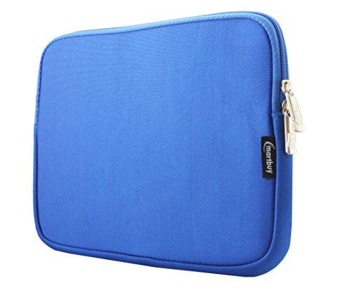 Emartbuy® Royal Blau Wasserresistent Neopren Soft Zip Case Cover Hülle 10-11 Zoll Geeignet Für Ausgewählte Geräte Unten Aufgetragen