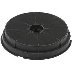 DREHFLEX-AK16-Filtre à charbon Filtre à charbon Hotte aspirante 180mm/190mm-convient pour différents fabricants(par ex. pour certaines hottes de AEG/Electrolux/Beko/Arcelik/EBD/Indesit etc.)