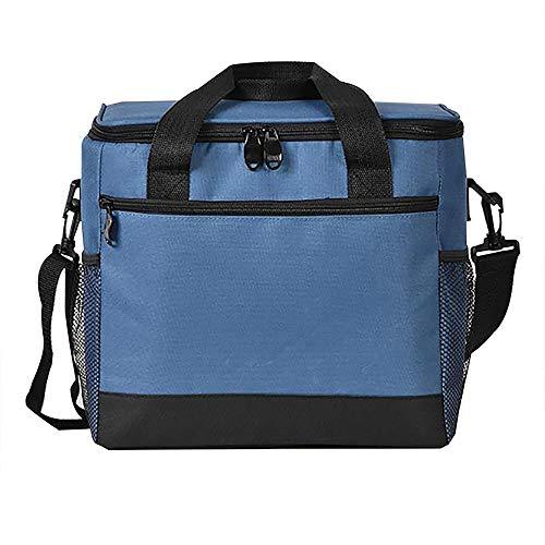 Samtlan borsa termica borsa pranzo borsa alimenti borsa frigo borsetta porta pranzo con tracolla grande capacità per campeggio lavoro scuola ufficio