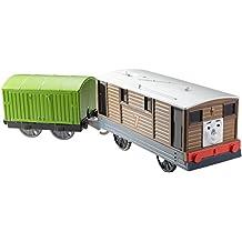 Thomas & Friends - Locomotora motorizada, personaje principal Toby (Mattel CDB70)