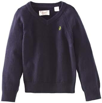 Original Penguin Long Sleeve Fully Fashioned Jersey Raglan 2 - 4 Polo Boy's T-Shirt Dark Sapphire 4 Years