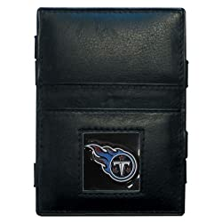 NFL Tennessee Titans Leather Jacob's Ladder Wallet