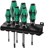 Wera TORX BO-Schraubendrehersatz 367/6 TORX BO Kraftform Plus  + Rack, 6-teilig, 05138250001