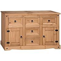 Mercers Furniture Corona Large Sideboard - Pine