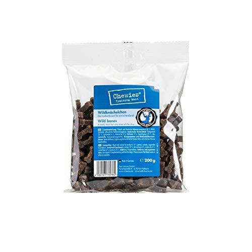 Chewies Hundeleckerli Wildknöchelchen 200 g, 4er Pack (4 x 200 g)