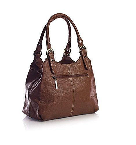 Craze London, Borsa a spalla donna Grey