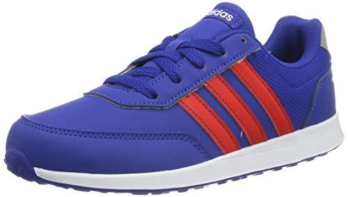 adidas Unisex-Kinder VS Switch 2 K Sneaker, Blau (Collegiate Royal/Active Red/Light Granite 0), 38 2/3 EU Active Sneakers