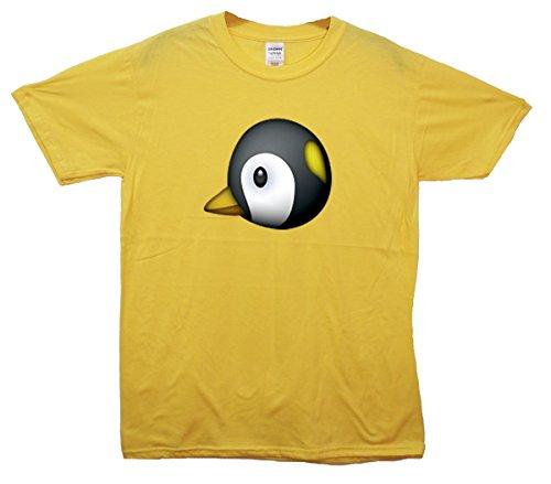 Penguin Emoji T-Shirt Gelb