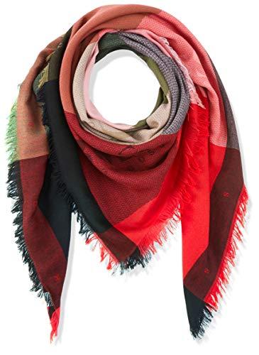BOSS Damen Schal Nalogo Rot (Bright Red 621) One Size (Herstellergröße: STÜCK)