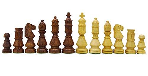 Chessmate Golden Rose Holz Hand Schwer Schach Staunton Schachfiguren Königshöhe 104 Mm Geschenk Für Vater In Handarbeit