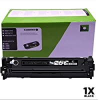 Compatible HP CE320A toner cartridge for HP CP1525n, CP1525nw CP1521CM1415fnw color laser printer cartridge,Black
