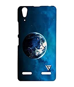 Vogueshell Earth Printed Symmetry PRO Series Hard Back Case for Lenovo A6000