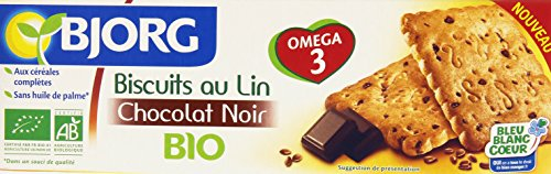Bjorg Biscuits Lin Pépites de Chocolat Bio 138 g