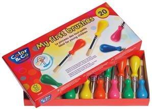 Lefranc & BourgeoisEducación - Pack 20 baby pinceles educación