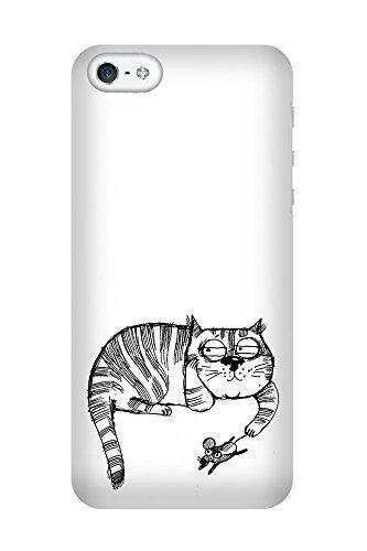 iPhone 4/4S Coque photo - Jouer Cat