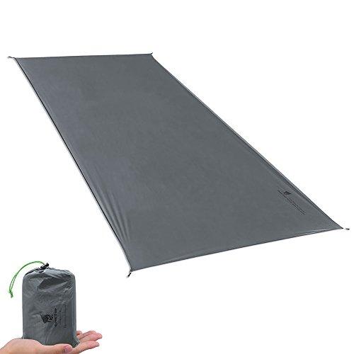 GEERTOP Schutzplane Zeltplanen Zeltunterlage 1-4 Personen 20D leichte wasserdicht für Zelt Wanderungen Camping - 1 2 Nylon-seil