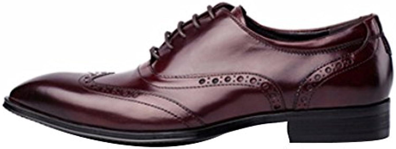Los Zapatos Ocasionales De Los Hombres De DHFUD Spring Señalaron Los Zapatos Solos -