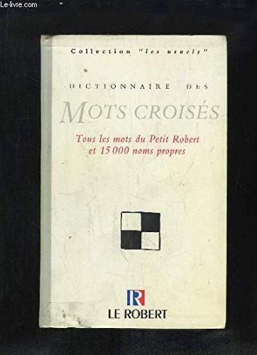 DICTIONNAIRE DES MOTS CROISES NP/PO