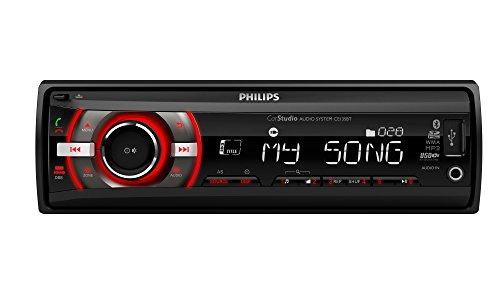 Philips phice235bt-Radio pour Voiture, Couleur Noir