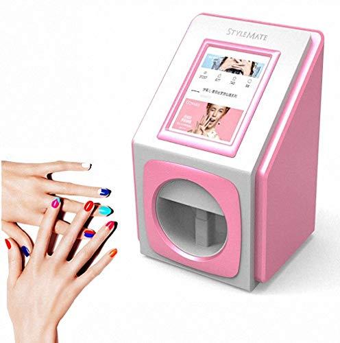 GUDEMN Impresoras de uñas 3D Máquina de Pintura portátil Transferencia inalámbrica móvil...