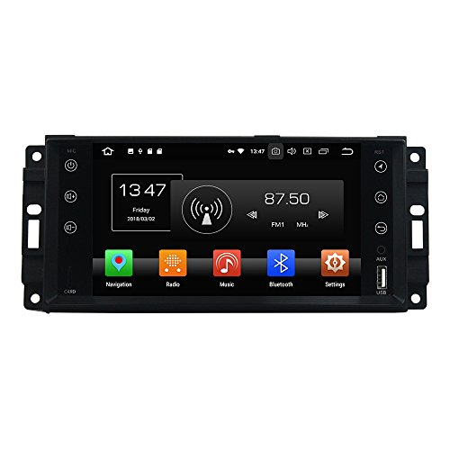 Android 8.0 Octa Core Autoradio Radio DVD GPS Navigation Multimedia-Player Auto Stereo für JEEP Sebring2006 300C 2005-2007 Grand Cherokee 2010 JEEP Compass 2010 Wrangler 2010 Journey 2010 unterstützt Lenkradsteuerungs mit - 2005 Stereo Jeep Cherokee